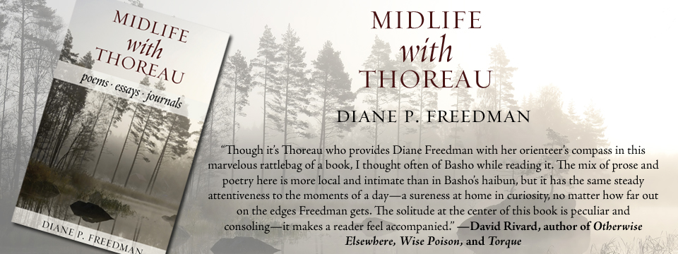Midlife with Thoreau: Poems, Essays, Journals | Now Available!